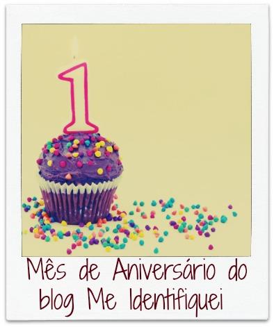 Cupcakede Aniversário Me Identifiquei