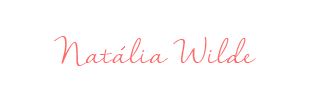 Assinatura Natalia Wilde